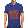 BLESS OUR BULLPEN Mens Polo
