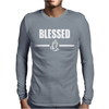 BLESSED Mens Long Sleeve T-Shirt