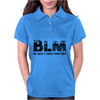 BLM Black Lives Matter Womens Polo