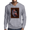 Blood Blow in Human Heart Mens Hoodie
