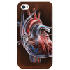 Blood Blow in Human Heart Phone Case