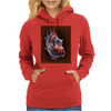 Blood Blow in Human Heart Womens Hoodie