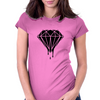Blood Diamond Womens Fitted T-Shirt