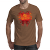 Blood Red Hearts Mens T-Shirt