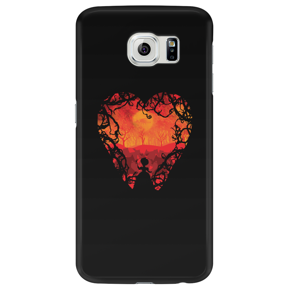 Blood Red Hearts Phone Case