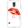 Blood Red Lips Phone Case