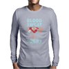 BLOOD SWEAT AND RUGBY Mens Long Sleeve T-Shirt
