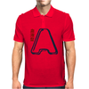 Blood Type A Personality - Color Mens Polo