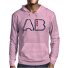 Blood Type AB Personality - Color Mens Hoodie