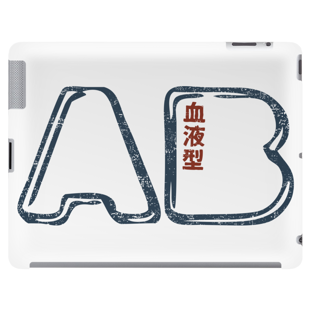 Blood Type AB Personality - Color Tablet