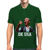 Bloodsport Van Dammne 80s Movie OK USA Mens Polo