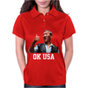 Bloodsport Van Dammne 80s Movie OK USA Womens Polo