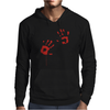 Bloody Hand Print Funny Zombie Kill Undead Blood Horror Killer Mens Hoodie
