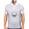 Blooming Skull Mens Polo