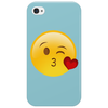 Blow a kiss emoji Phone Case