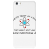 Blow everything up brb Phone Case