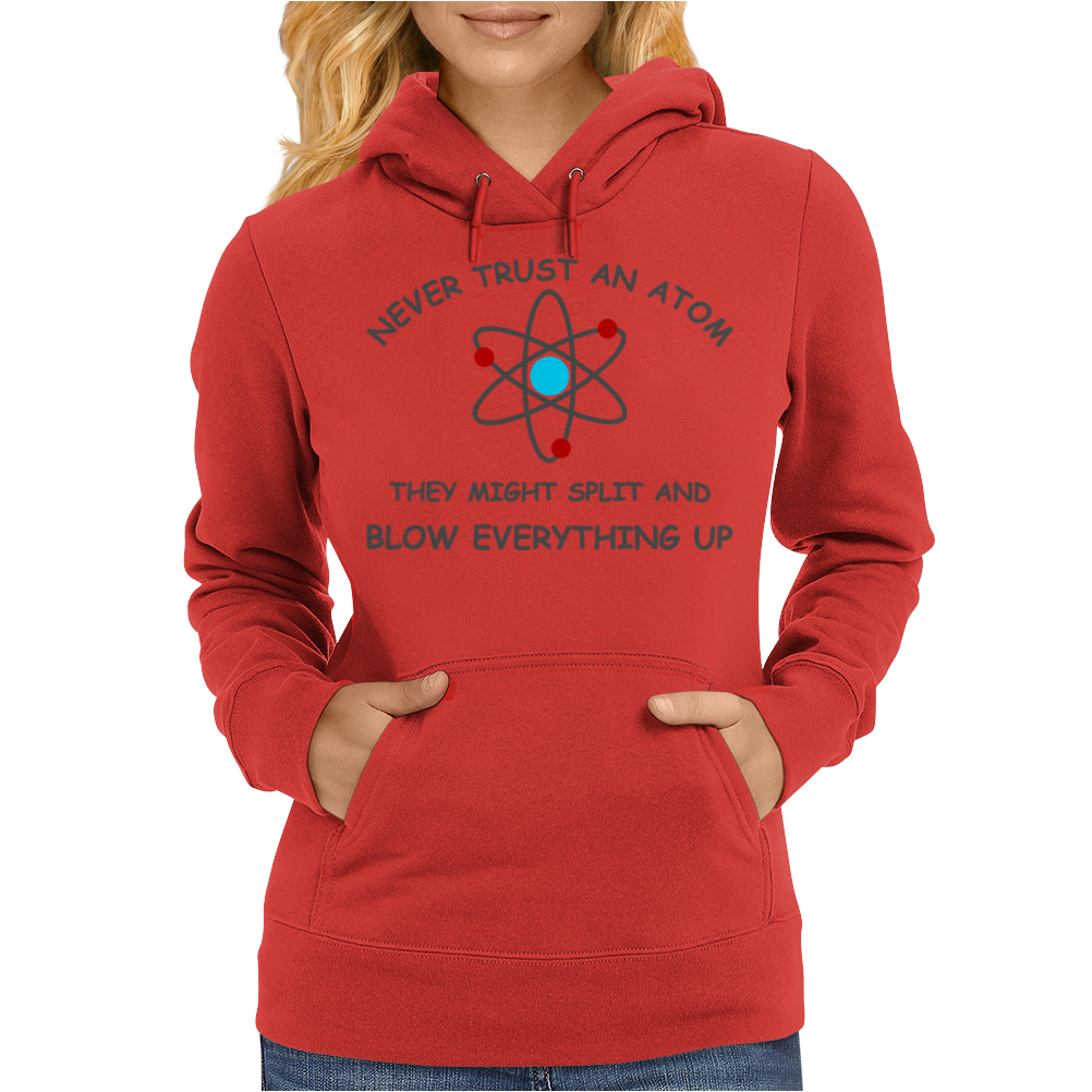Blow everything up brb Womens Hoodie