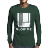 Blow Me Nintendo NES Mens Long Sleeve T-Shirt