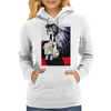 BLOWING IN THE  WIND Womens Hoodie