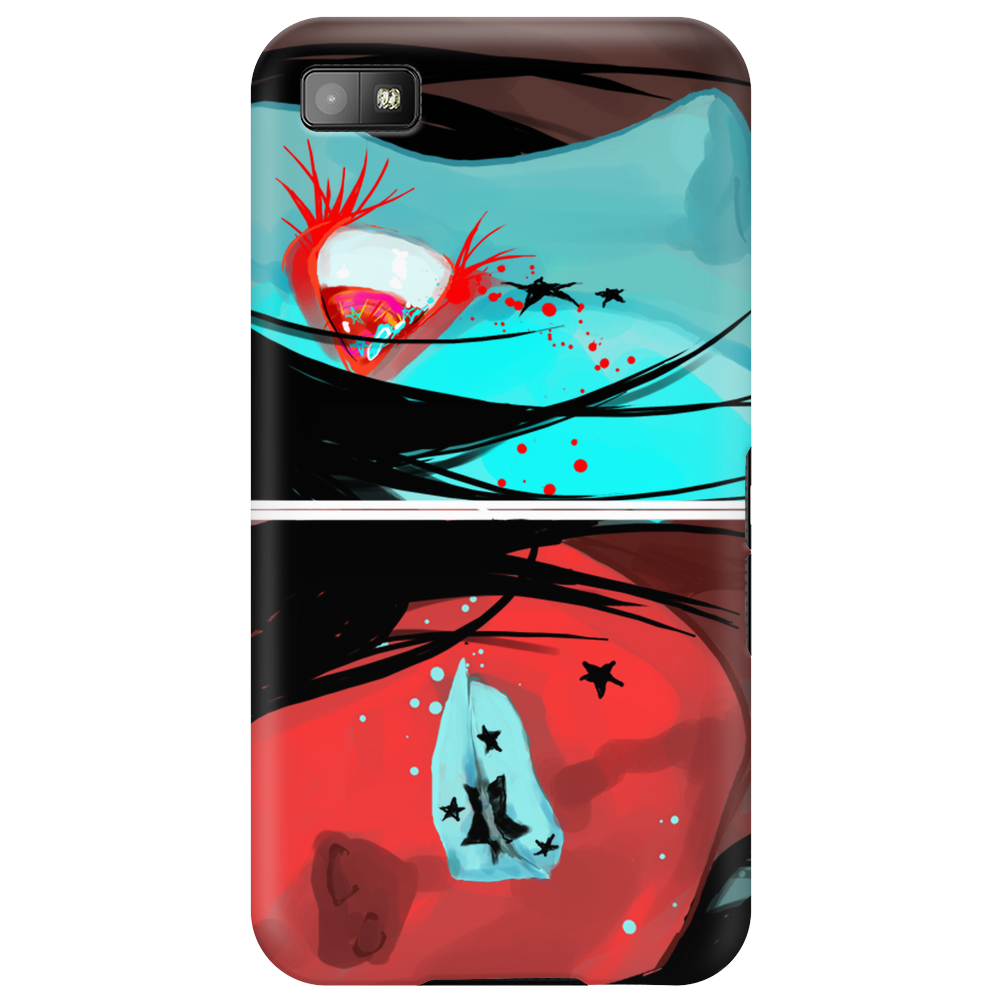 Blue and Red Phone Case