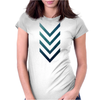 Blue Arrow Womens Fitted T-Shirt