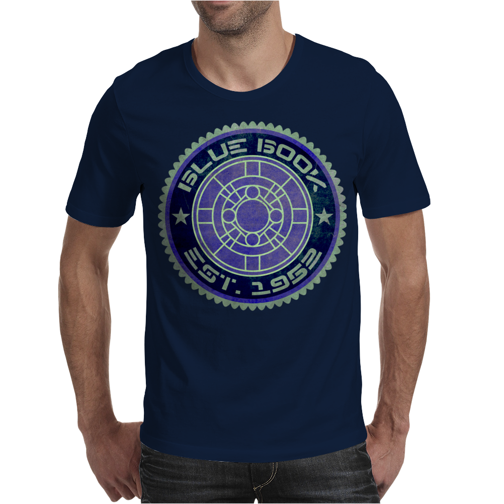 BLUE BOOK Mens T-Shirt