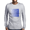 Blue Carving Mens Long Sleeve T-Shirt