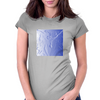 Blue Carving Womens Fitted T-Shirt