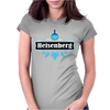 Blue Crystal Meth Heisenberg Brand Womens Fitted T-Shirt