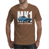 Blue Ford Capri Mk1 Classic Car Mens T-Shirt
