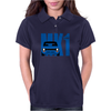 Blue Ford Escort MK1 Classic Car Womens Polo