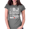 Blue Jays I Love Bjs Womens Fitted T-Shirt