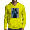Blue Ombre Hair Illustration Mens Hoodie