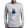 Blue Owl Mens Long Sleeve T-Shirt