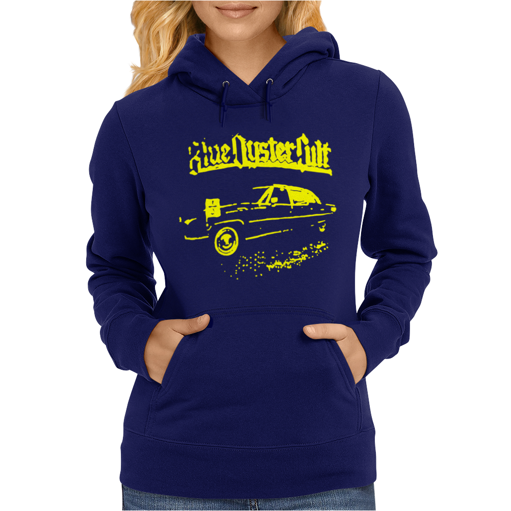 Blue Oyster Cult Womens Hoodie