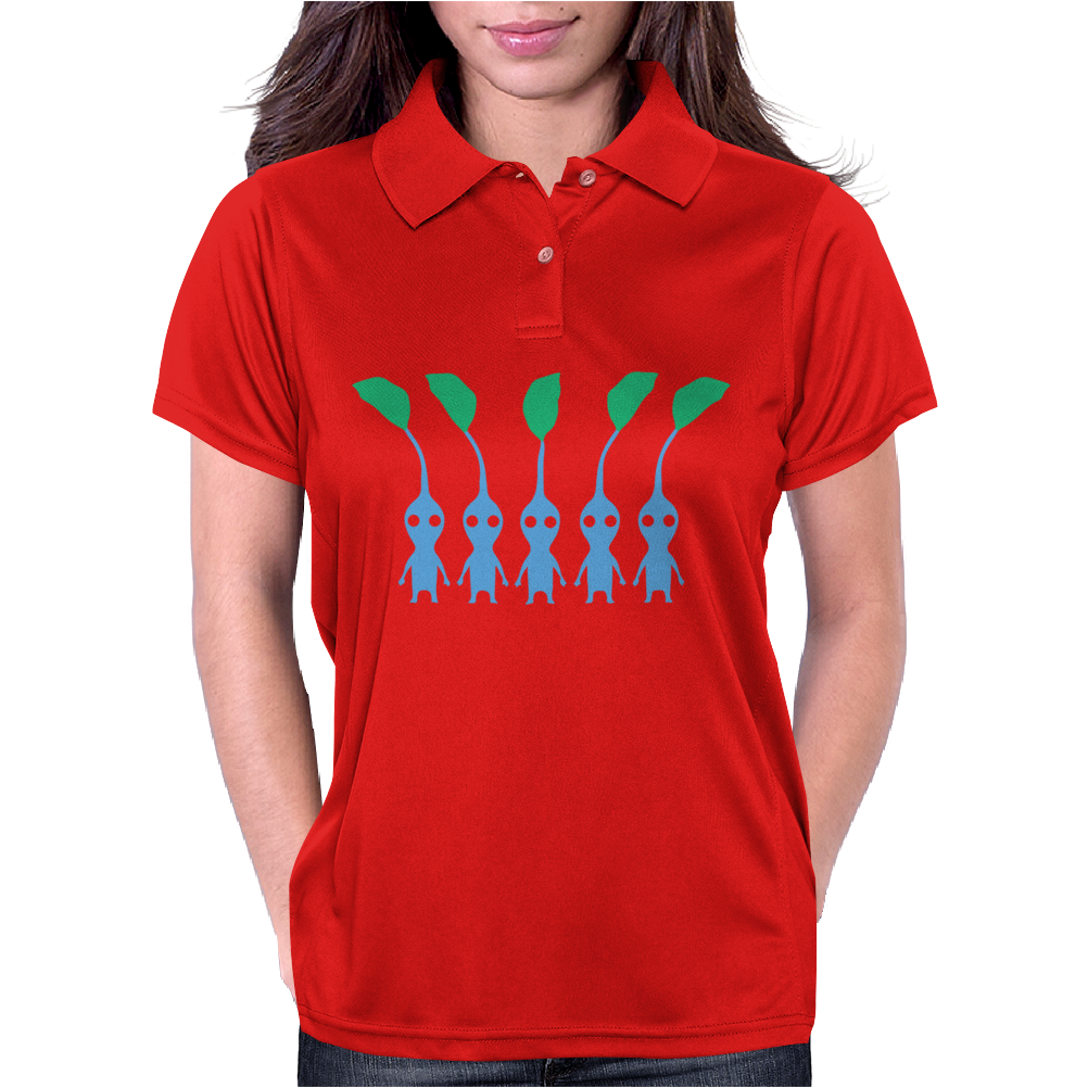 Blue Pikmin Womens Polo