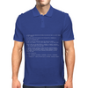 Blue Screen of Death Mens Polo