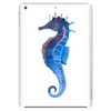 Blue seahorse (Hippocampus) Tablet (vertical)