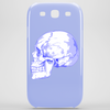 BLUE SKULL Phone Case