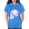 BLUE SKULL Womens Polo
