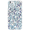 Blue spiral Phone Case