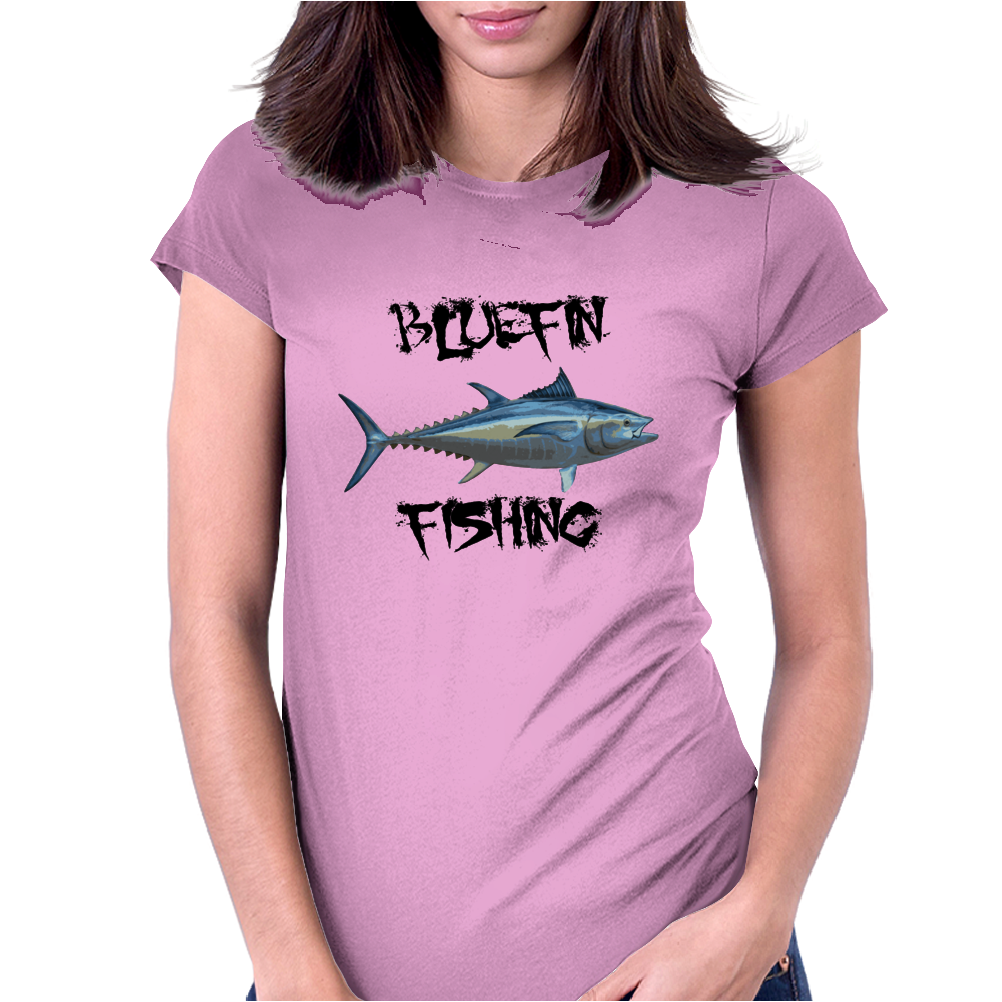 Bluefin fishing Womens Fitted T-Shirt