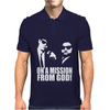 Blues Brothers Belushi Cult Tv Mens Polo