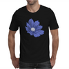 Bluish Flower Mens T-Shirt