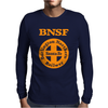 Bnsf Burlington Santa Fe Railroad Mens Long Sleeve T-Shirt