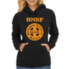 Bnsf Burlington Santa Fe Railroad Womens Hoodie
