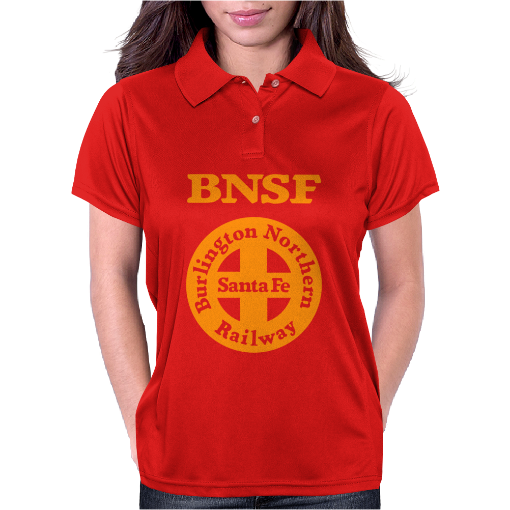 Bnsf Burlington Santa Fe Railroad Womens Polo