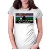 Bo Jackson Tecmo Bowl Oakland Raiders Womens Fitted T-Shirt