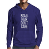 Boat Hair Don't Care Mens Hoodie