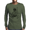 Boba Fett art Mens Long Sleeve T-Shirt
